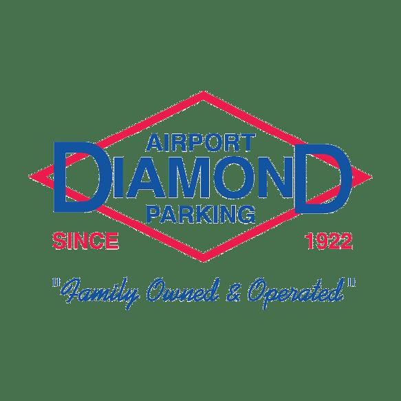 airport diamond parking logo